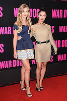 """Tina Stinnes and Cally Jane Beech <br /> arrives for the """"War Dogs"""" premiere at the Picturehouse Central, London.<br /> <br /> <br /> ©Ash Knotek  D3144  11/08/2016"""