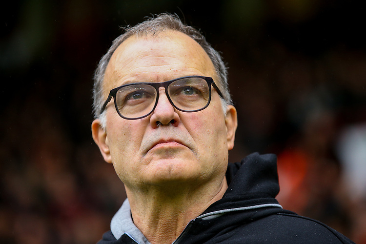 Leeds United manager Marcelo Bielsa<br /> <br /> Photographer Alex Dodd/CameraSport<br /> <br /> The EFL Sky Bet Championship - Sheffield United v Leeds United - Saturday 1st December 2018 - Bramall Lane - Sheffield<br /> <br /> World Copyright © 2018 CameraSport. All rights reserved. 43 Linden Ave. Countesthorpe. Leicester. England. LE8 5PG - Tel: +44 (0) 116 277 4147 - admin@camerasport.com - www.camerasport.com