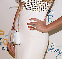 NEW YORK, NY - MAY 6, 2014: Beth Ostrosky Stern 'accessories' attends the Tyra Banks'  Flawsome Ball 2014 , at Cipriani Wall Street ,May 6 , 2014 in New York City  HP/StarlitePics