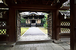 Konchi-in, historic Japanese temple, a sub-temple of Nanzen-ji temple complex in Sakyo-ku, Kyoto, Japan 2017 Image © MaximImages, License at https://www.maximimages.com