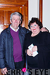 Tom and Marie Marshall Currow enjoying the Brendan Grace show in the INEC on Saturday night