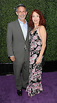 Amy Yasbeck and date arriving at the 16th Annual Design Care 2014 held at The Lot Studios Los Angeles, CA. July 19, 2014.