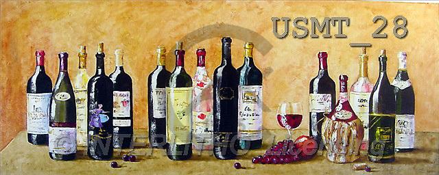 Malenda, STILL LIFES, paintings, ciark wine(USMT28,#I#) Stilleben, naturaleza muerta, illustrations, pinturas