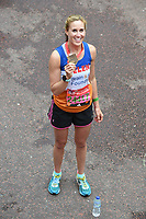 Helen Glover at the finish line on The Mall at the 2017 London Marathon, London, UK. <br /> 23 April  2017<br /> Picture: Steve Vas/Featureflash/SilverHub 0208 004 5359 sales@silverhubmedia.com