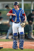 December 30, 2009:  Gabriel Mirabelli (8) of the Baseball Factory Bulldogs team during the Pirate City Baseball Camp & Tournament at Pirate City in Bradenton, FL.  Photo By Mike Janes/Four Seam Images