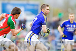 Marc O'Se Kerry in action against  Mayo in the National Football League in Austin Stack Park on Sunday..