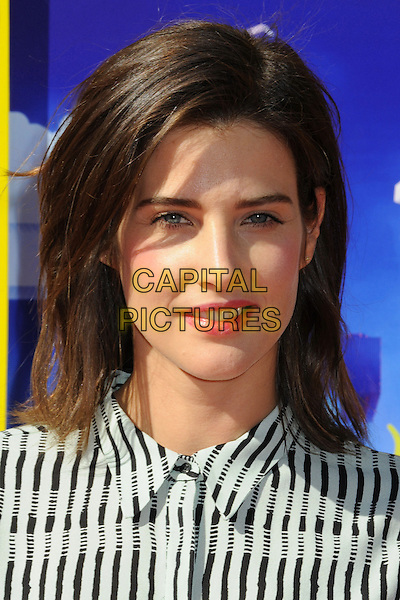 1 February 2014 - Westwood, California - Cobie Smulders. &quot;The Lego Movie&quot; Los Angeles Premiere held at the Regency Village Theater.  <br /> CAP/ADM/BP<br /> &copy;Byron Purvis/AdMedia/Capital Pictures