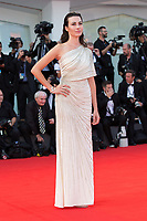 Daniela Virgilio at the Downsizing premiere and Opening Ceremony, 74th Venice Film Festival in Italy on 30 August 2017.<br /> <br /> Photo: Kristina Afanasyeva/Featureflash/SilverHub<br /> 0208 004 5359<br /> sales@silverhubmedia.com
