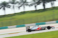 British Lewis Hamilton on McLaren Mercedes MP4-27.24/03/2012 Grand Prix Malesia, Sepang , Essais..Foto Insidefoto  /Bernard Asset / Panoramic.ITALY ONLY..
