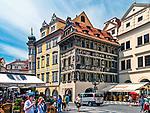 Praga, stolica Czech. 2013-07-23. Rynek Starego Miasta.