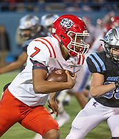 Northside's Dreyden Norwood runs with the ball during Friday's game at Fort Smith Southside.