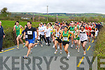 The runners take off at the start of the An Riocht/Kerry Autism fun run in Castleisland on Sunday    Copyright Kerry's Eye 2008