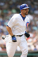 June 18th 2007:  Mark DeRosa of the Chicago Cubs during a game at Wrigley Field in Chicago, IL.  Photo by:  Mike Janes/Four Seam Images