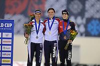 SPEED SKATING: SALT LAKE CITY: 21-11-2015, Utah Olympic Oval, ISU World Cup, ©foto Martin de Jong