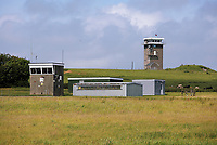 Thursday 15 June 2017<br /> Pictured: Castlemartin range.<br /> Re: A soldier has been killed and three others injured after an incident involving a tank at a Ministry of Defence base in Pembrokeshire.<br /> The soldier, from the Royal Tank Regiment, died in the incident at Castlemartin Range.<br /> Two people were taken to Morriston Hospital in Swansea, while another casualty remains in Cardiff's University Hospital of Wales.<br /> An investigation is under way.<br /> Live firing was scheduled to take place at the range between Monday and Friday.<br /> In May 2012, Ranger Michael Maguire died during a live firing exercise at the training base. An inquest later found he was unlawfully killed.
