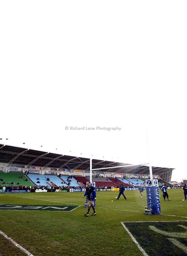 Photo. Chris Ratcliffe..NEC Harlequins v Newcastle Falcons. Zurich Premiership. 13/03/2005..The Stoop, home of Harlequins.