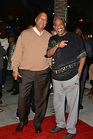 LOS ANGELES, CA- FEB. 08: Ken Lombard, Ayuko Babu at the 2018 Pan African Film & Arts Festival at the Cinemark Baldwin Hills 15 in Los Angeles, California on Feburary 8, 2018 Credit: Koi Sojer/ Snap'N U Photos / Media Punch