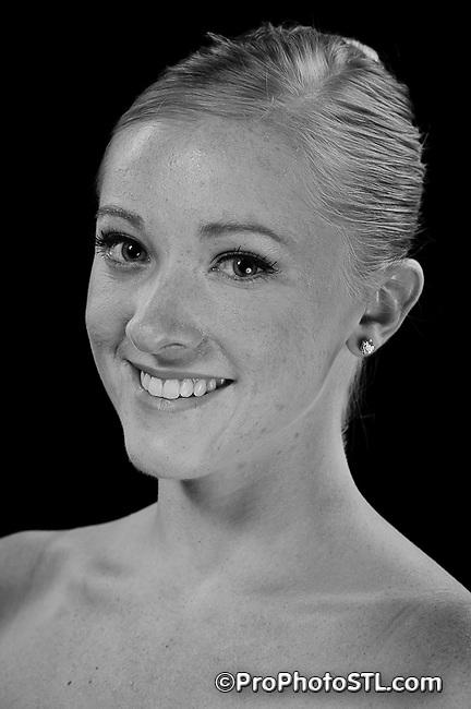 Missouri Ballet Theatre portraits in B&W