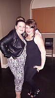 Pictured: Danielle Prosser (R)<br /> Re: A young mum who used a four-inch stiletto heel to carry out an horrific attack on an innocent couple has walked free from court.<br /> Danielle Prosser, 29, took off the shoe and lunged at the startled pair outside a nightclub, causing horrific injuries.<br /> Sophie Rees, 19, was knocked unconscious and needed to have her scalp stapled back together.<br /> Her boyfriend Matthew Lloyd, 20, needed surgery to his cheek after suffering severe facial injuries caused by the sharp heel.<br /> A judge said the injuries were so severe the offences merited going to prison.<br /> But mother-of-three Prosser was let off with a suspended sentence because she was sorry for her &ldquo;moments of stupidity.&rdquo;<br /> Prosser was filmed approaching the couple armed with the black stiletto outside Coolers nightclub in Merthyr Tydfil, South Wales.<br /> The court heard there was had been banter as revellers left the venue at 2am with drink and food being thrown.