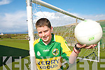 .ON THE BALL: Daragh O'Sullivan from The Glen National School who won the South Kerry Schools Gaelic Football Skills competition.   Copyright Kerry's Eye 2008