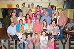 POSTMAN: Tony Muvihill, Ballydonoghue who on Saturday night retired as the Ballydonoghue and Lisselton postman and surrounding area after 25 years and on the night his family and friends held a party in Toma?isi?ns Bar & Restaurant,Lisselton to mark the occasion. .....