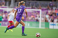 Orlando, FL - Saturday August 05, 2017: Dani Weatherholt during a regular season National Women's Soccer League (NWSL) match between the Orlando Pride and the Chicago Red Stars at Orlando City Stadium.