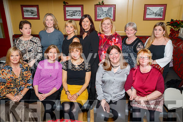 Pictured are Na Gaeil Bingo Committee enjoying a night out in the Brogue Inn, Tralee on Saturday night last were front l-r: Kate Guerin, Mary McElligott, Eileen Barry, Helen Sugrue and Mary Sheehy. Back l-r: Jackie Carlos, Joan Casey, Sorcha Uí Shuilleabhain, Annette Lowham, Niamh Burke, Cait Looney and Tracey Sheehan.