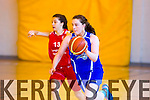 Imperials Courtney Ryan gets away from Brunell's A. Machetta  in the Girls  under 18 national Cup Tralee Imperials V  Brunell Ladies in Mounthawk Tralee on Saturday