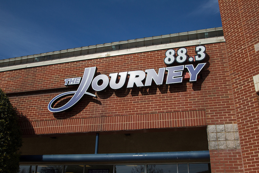 Journey FM, located at Candlers Mountain Station, is photographed for trademark purposes on January 20, 2015. (Photo by Kevin Manguiob)