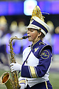 SEATTLE, WA - September 07:  Washington Band members entertained fans before the college football game between the Washington Huskies and the California Bears on September 07, 2019 at Husky Stadium in Seattle, WA. Jesse Beals / www.Olympicphotogroup.com