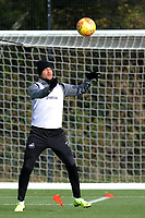 Martin Olsson of Swansea City in action during the Swansea City Training at The Fairwood Training Ground, in Swansea, Wales, UK. Wednesday 02 November 2018