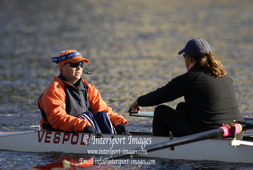 Boston, Massachusetts,  Fri morning, 21/10/2006,   2006 Head of the Charles,  Photo  Peter Spurrier/Intersport Images...[Mandatory Credit, Peter Spurier/ Intersport Images] Rowing Course; Charles River. Boston. USA