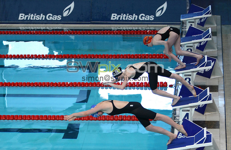 PICTURE BY VAUGHN RIDLEY/SWPIX.COM...Swimming - British Gas Swimming Championships 2011, Day 4 - Manchester Aquatics Centre, Manchester, England - 08/03/11...Branding.