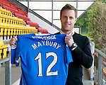 St Johnstone Players Sponsors Night, McDiarmid Park...09.05.12.Alan Maybury.Picture by Graeme Hart..Copyright Perthshire Picture Agency.Tel: 01738 623350  Mobile: 07990 594431