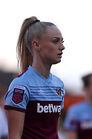 Alisha Lehmann of West Ham United women during Tottenham Hotspur Women vs West Ham United Women, Barclays FA Women's Super League Football at the Hive Stadium on 12th January 2020