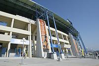 23 August 2004:  Pankritio Stadium in Heraklio, Greece.   Credit: Michael Pimentel / ISI