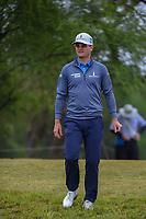 Zach Johnson (USA) makes his way down 2 during Round 3 of the Valero Texas Open, AT&amp;T Oaks Course, TPC San Antonio, San Antonio, Texas, USA. 4/21/2018.<br /> Picture: Golffile | Ken Murray<br /> <br /> <br /> All photo usage must carry mandatory copyright credit (&copy; Golffile | Ken Murray)