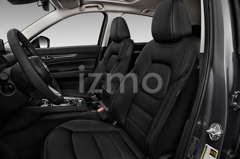 Front seat view of 2017 Mazda CX-5 Grand-Touring 5 Door SUV Front Seat  car photos