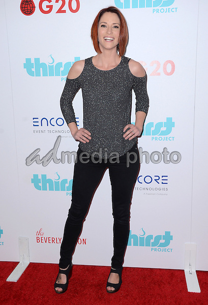 22 March 2016 - Beverly Hills, California - Chyler Leigh. Thirst Project World Water Day Press Conference held at The Beverly Hilton. Photo Credit: Birdie Thompson/AdMedia