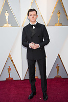 Tom Holland arrives on the red carpet of The 90th Oscars&reg; at the Dolby&reg; Theatre in Hollywood, CA on Sunday, March 4, 2018.<br /> *Editorial Use Only*<br /> CAP/PLF/AMPAS<br /> Supplied by Capital Pictures