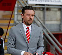 Leyton Orient manager, Danny Webb seen during the Sky Bet League 2 match between Leyton Orient and Grimsby Town at the Matchroom Stadium, London, England on 11 March 2017. Photo by Carlton Myrie / PRiME Media Images.