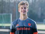 UTRECHT - Justen Blok, away  shirt speler Nederlands Hockey Team heren. COPYRIGHT KOEN SUYK