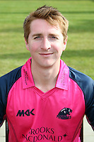 Tom Smith in the Middlesex Friends Life Twenty 20 Kit - Middlesex County Cricket Club Press Day at Lords Cricket Ground, London - 08/04/13 - MANDATORY CREDIT: Rob Newell/TGSPHOTO - Self billing applies where appropriate - 0845 094 6026 - contact@tgsphoto.co.uk - NO UNPAID USE.