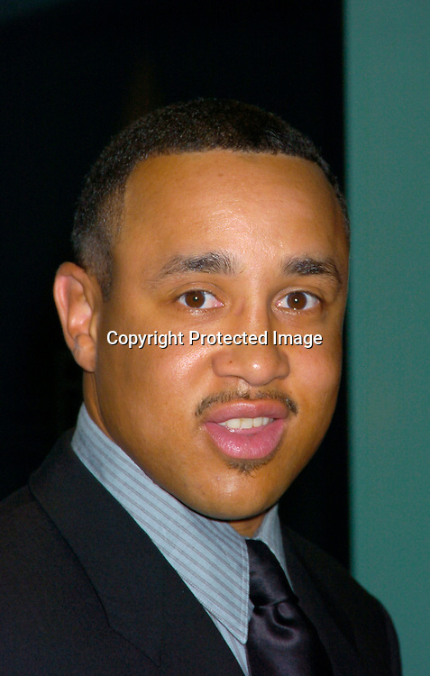 John Starks..at the Arthur Ashe Institute for Urban Health Sportsball 2004 on April 29, 2004 at PIer Sixty at Chelsea PIers. ..People were told to wear Blcak tie and sneakers. ..Photo by Robin Platzer, Twin Images