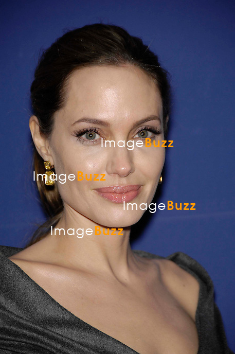 Angelina Jolie during the 27th Annual American Society of Cinematographers Awards, held at the Ray Dolby Ballroom, at the Hollywood and Highland Complex, on February 10, 2013, in Los Angeles..