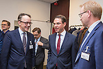 BRUSSELS - BELGIUM - 28 November 2016 -- Inauguration of the Nordic Energy Office. --  (f. left) Olaf Ulsteth, CEO Energy Norway (EnergiNorge); Jyrki Katainen, Vice-president of the European Commission, responsible for Jobs, Growth, Investment and Competitiveness and Anders Stouge, Dansk Energi. -- PHOTO: Juha ROININEN / EUP-IMAGES