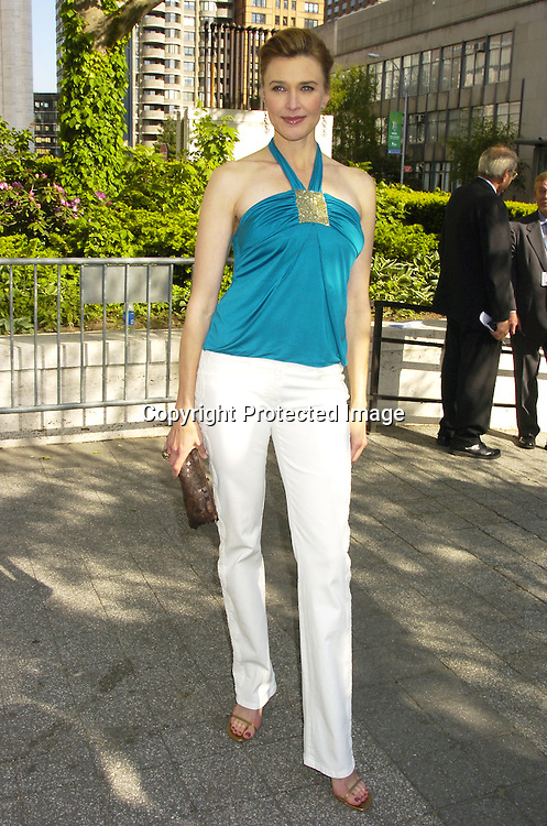 Brenda Strong of Desperate Housewives..at The ABC Upfront Announcement of Their Fall Schedule on May 17, 2005 at Lincoln Center...Photo by Robin Platzer, Twin Images