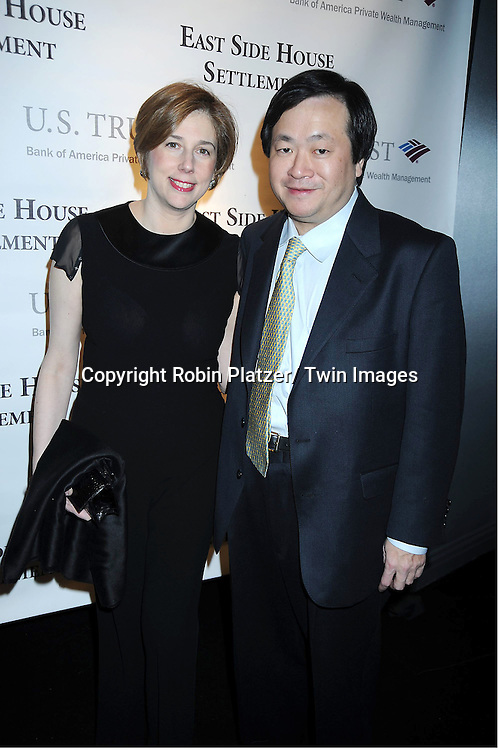 Maria and Phillip Yang attending The 2011 Winter Antiques Show Opening Night on January 20, 2011 at The Park Avenue Armory in New York City. .
