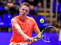 Rotterdam, Netherlands, December 13, 2017, Topsportcentrum, Ned. Loterij NK Tennis, Wheelchair, Ruben Spaargaren (NED)<br /> Photo: Tennisimages/Henk Koster