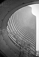 Curves highlight the architecture of Lake Point Tower in Chicago, Illinois.